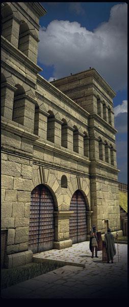 Porta Praetoria gesamt