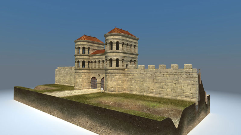 Porta Praetoria Phase 3