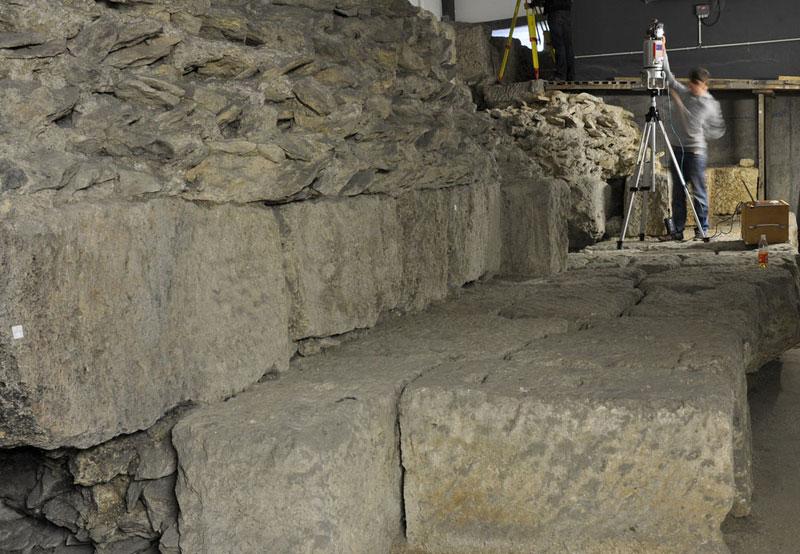 Römermauer Regensburg 3D-Laserscanning Römermauer Regensburg