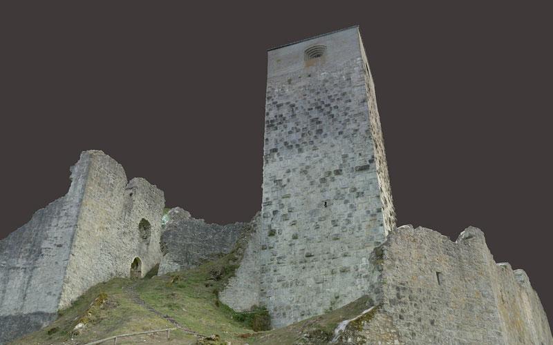 Sicherung Burg Wellheim 1
