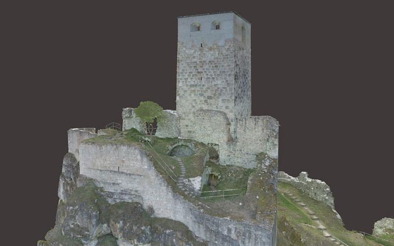 Sicherung Burg Wellheim 2