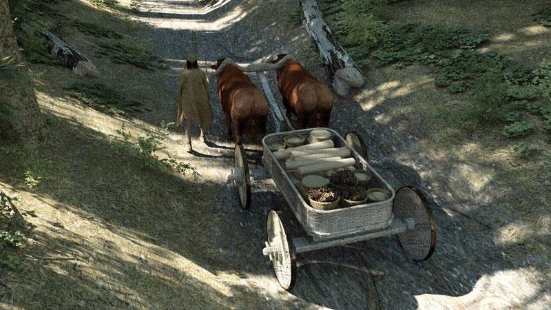 Szene aus dem Film Bronze