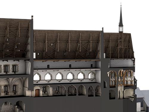 Titel Dokumentation Burg Vianden
