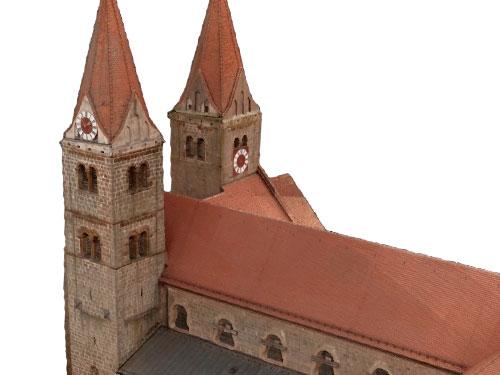 Titel Dokumentation Klosterkirche Reichenbach