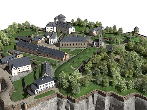 Titel Festung Königstein
