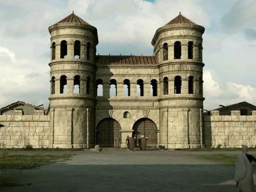 Titel Römermauer Regensburg