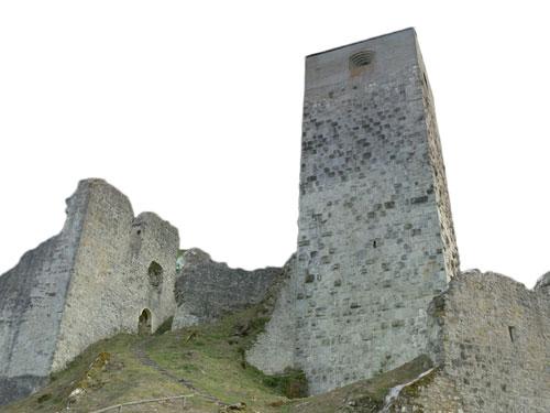 Titel Sicherung Burg Wellheim