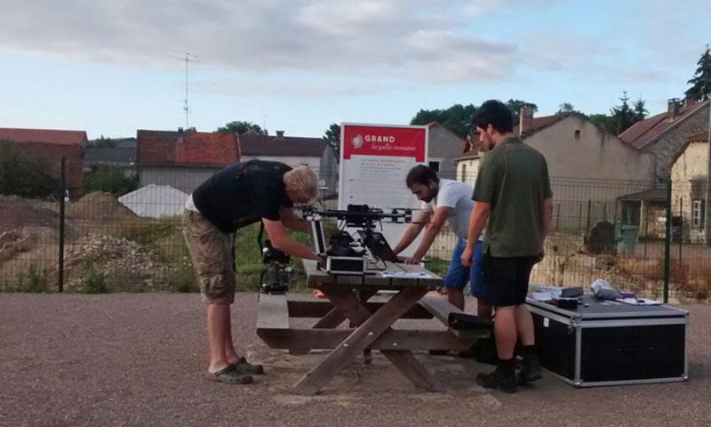 UAV-Luftbildarchäologie