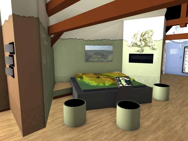 Virtueller Museumsrundgang Grabung