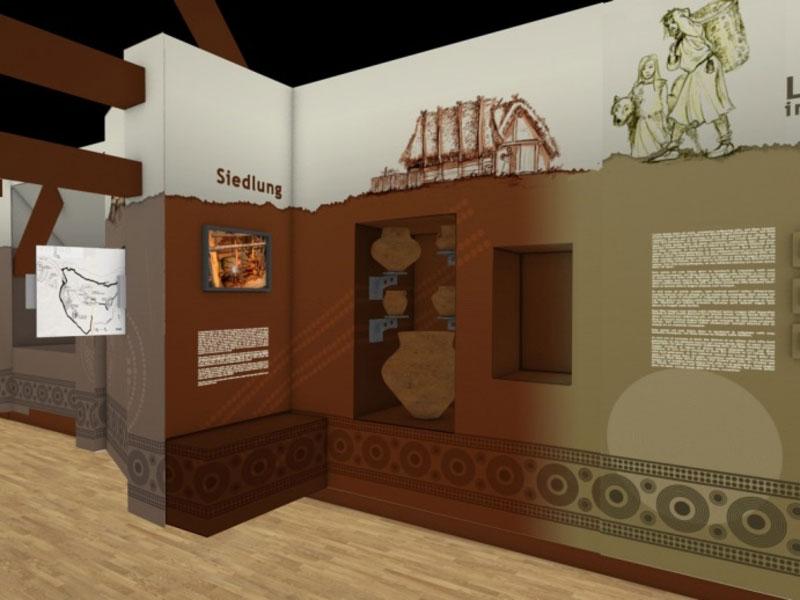 Virtueller museumsrundgang Siedlung