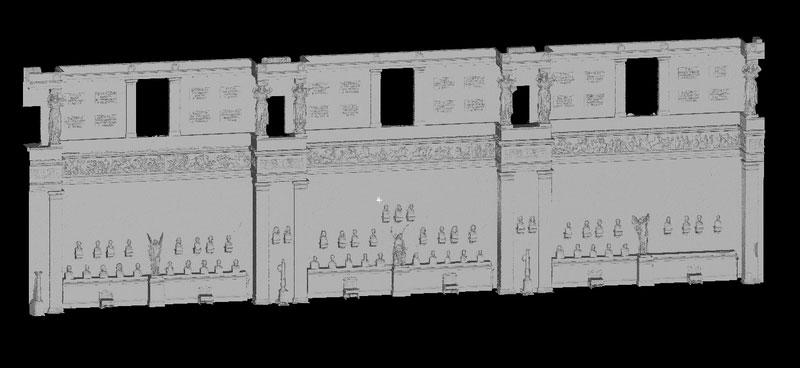 Walhalla 3D-Ansicht Ostseite