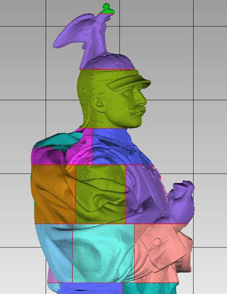 Wilhelm-Statue 3D-Modell für 3D-Drucker