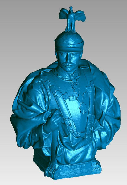 Wilhelm-Statue digitales 3D-Modell