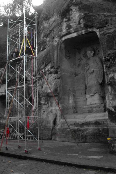 Buddha Sakyamuni 3D-Scanner 3