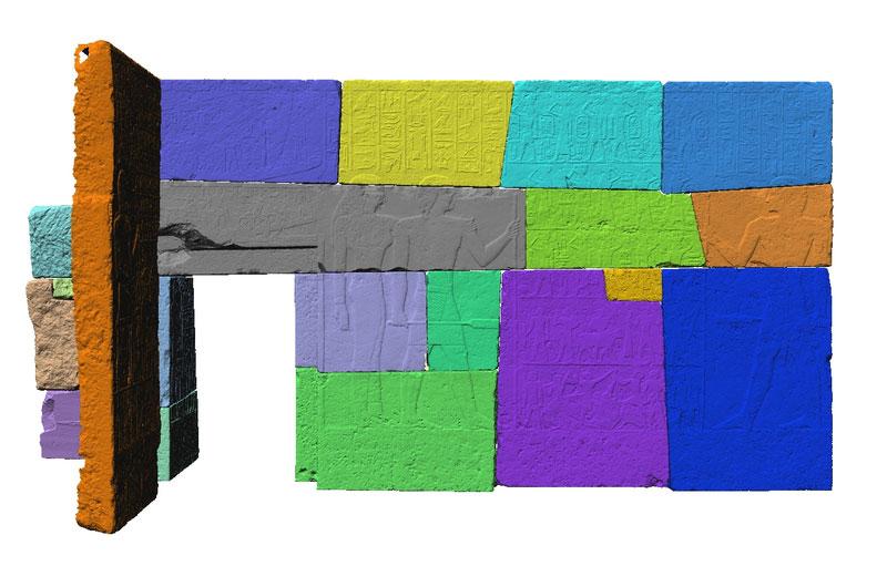 Opferkammern Polyworks Ausrichtung Merib farbig