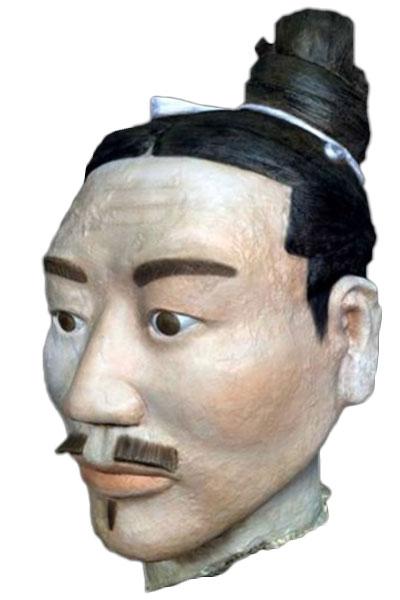 Terrakotta-Krieger rekonstruiert
