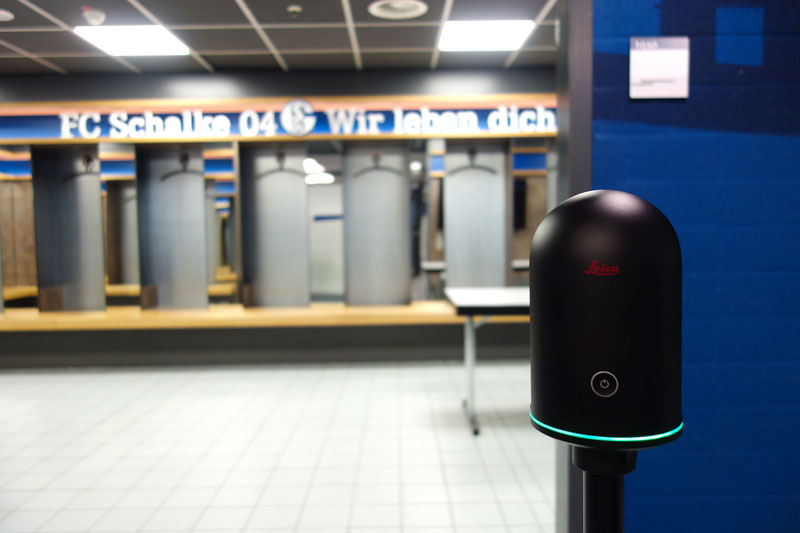 Veltins Arena 3D laser scan with BLK360