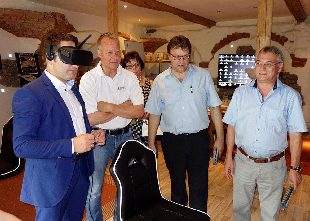 Tobias Gotthardt in der VR