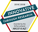 Award innovative through research