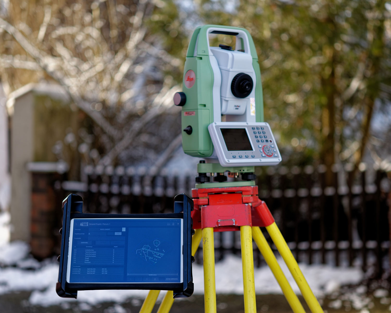 tGIS Andoid App für Leica Flexline Tachymeter