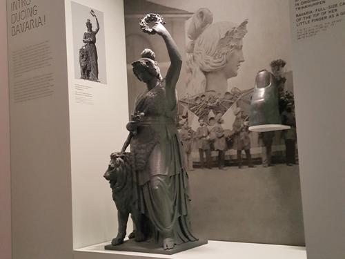3D-Puzzle in der Ausstellung im Museum der Bayerischen Geschichte, Regensburg