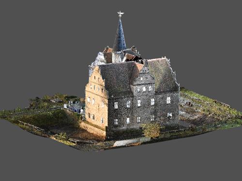 3D-Daten Wasserschloss Oberau