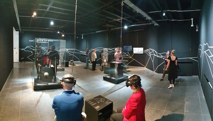Ausstellung mit VR Inhalten im Badischen Landesmuseum Karlsruhe