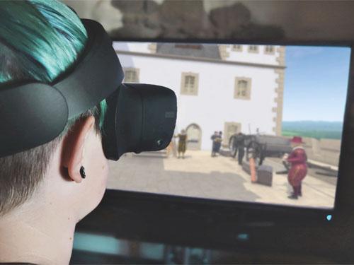 Mit VR-Brille eintauchen in das Jahr 1630