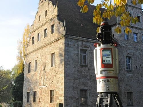3D-Laserscan Wasserschloss Oberau