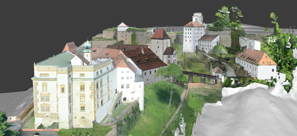 3D heritage documenation with laser scanning and photogrammetry