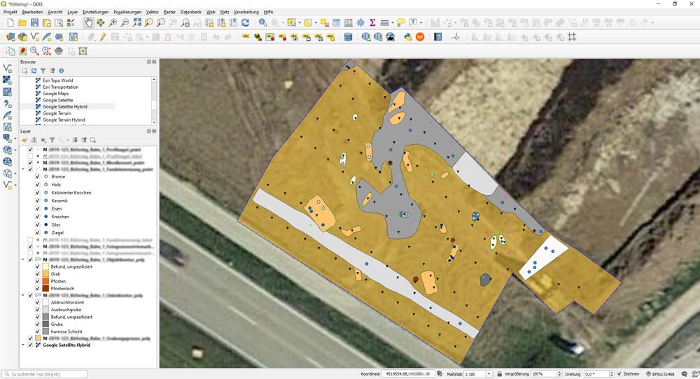 Plan im GIS - Übersicht