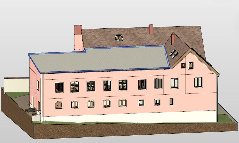3D-Architekturvermessung Außenansicht