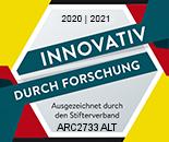 Forschung und Entwicklung Gütesiegel 2020-2021