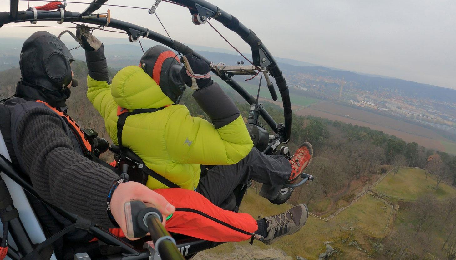 Luftbildbefliegung für die 3D-Dokumentation Festung Regenstein