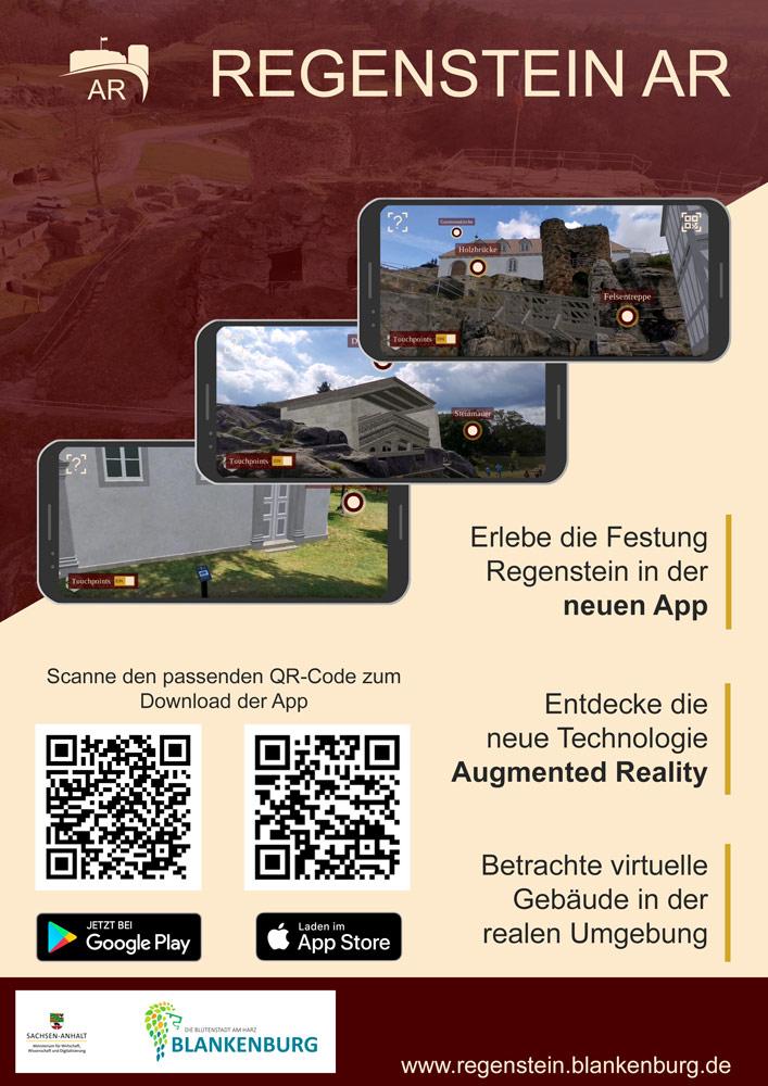 AR App Festung Regenstein