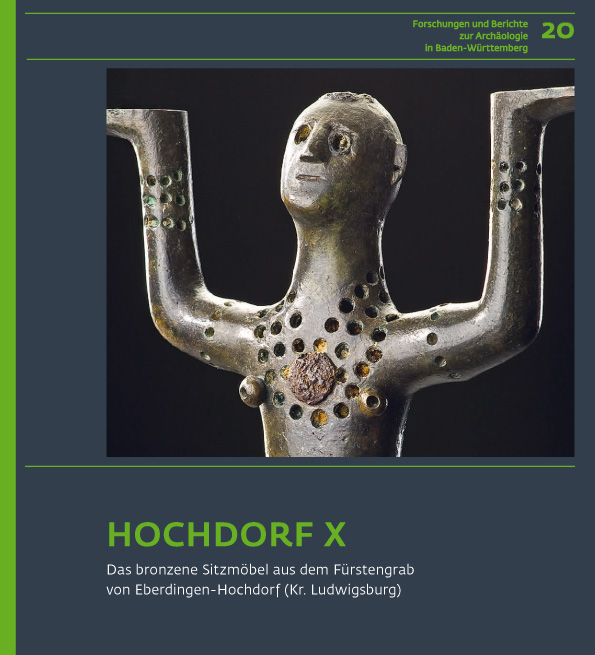 """Article from the publication """"Forschungen und Berichte zur Archäologie in Baden-Württemberg Hochdorf X"""""""