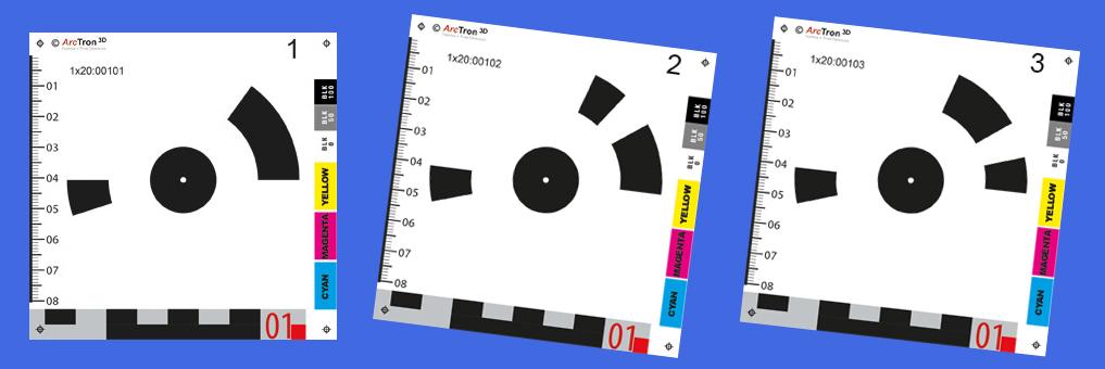 Coded Targets für die Photogrammetrie