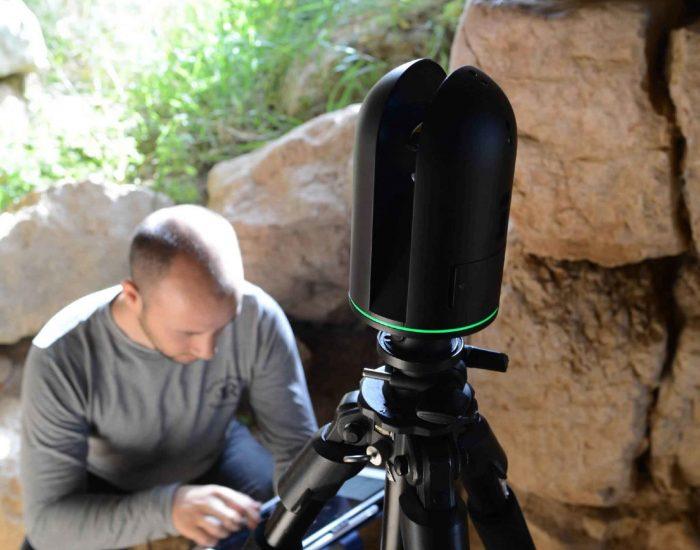 Tiryns 3D-Vermessung mit Laserscanner BLK360